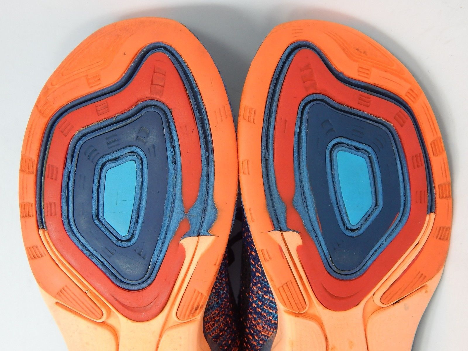 Nike Lunarglide+ 7 Size 12 M (D) EU 46 Men's Running Shoes Pink Blue 747355-404