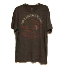Men's Adidas Originals Portland Trail Blazers Tee in Grey Sz XL EUC - $22.74