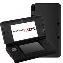 Assecure Soft Gel Silicone Cover Case For Nintendo 3DS - Black - $2.99+