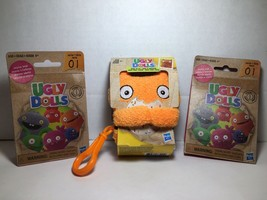 Hasbro Ugly Dolls Wage To-Go Stuffed Plush Toy 5 inch tall + 2 Blind Packs - $13.99
