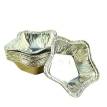 Egg Tart Tinfoil Mold  Star Shape  120pcs - $12.46