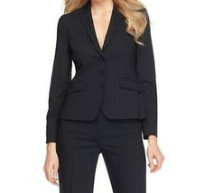 "Anne Klein Platinum Blazer Sz 6 Ink Multi Color ""Classiques"" Business Ja... - $59.35"