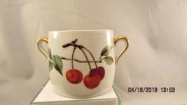 Royal Worcester Fireproof ENGLAND Sugar Honey Pot Evesham shape 29 size 6 - $20.56