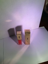 Yves Saint Laurent Tatouage Couture Matte Stain 17 Unconventional Coral 6ml New - $35.00