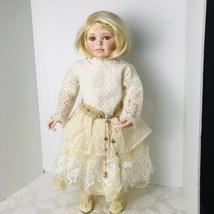 """Artist Doll Pamela Erff 2002 Limited Edition 182/750 Porcelain Doll 28"""" ... - $96.03"""