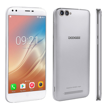 "Doogee x30 silver quad core 2gb/16gb 5.5"" hd screen android 7.0 smartphone - $299.99"