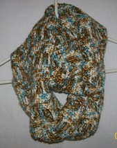 Handmade, Crochet Cowl Scarf, Fashion Scarf, Accessories, Women, Infinit... - €36,97 EUR