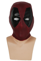 Deadpool Mask Action Figure Latex Mask Cosplay Costume Props Halloween U... - $38.18 CAD