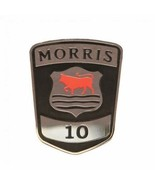 Vintage Morris 10 Car Radiator - Chrome Enamel -  Grill Brass Badge - Br... - $6.92