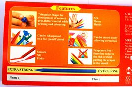 Faber-Castell  25 Erasable Plastic Crayons  Assorted Shades  110 mm each image 3