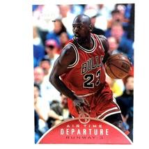 Michael Jordan 1997-98 Upper Deck Air Time #AT6 Insert Chicago Bulls  - $4.90