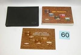 2000 Chevrolet Blazer Factory Owners Manual Portfolio  #60 - $17.77