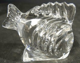 """Small Waterford Fish 2 3/4"""" Tall - $18.99"""