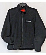 Woman's Harley Davidson Black Fleece Windstopper Size L Embroidered Logo - $39.60