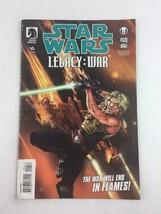 Star Wars Legacy : War #6 May 2011 Dark Horse Comic Book - $7.91