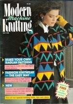 Modern Machine Knitting May 1988 Magazine Shell & Starfish Sweater and more - $5.69