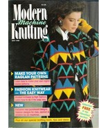 Modern Machine Knitting May 1988 Magazine Shell & Starfish Sweater and more - $5.69