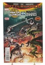Age of Ultron vs Marvel Zombies #3 Battleworld Secrect Wars Marvel Comics 2015 - £3.20 GBP
