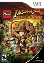 Wii Indiana Jones The Original Adventures LEGO w/ Case & Book TESTED  - $8.90