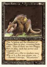 Magic: The Gathering 3rd Edition - Plague Rats - $0.25