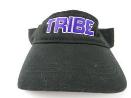 Tribe Black Purple Adjustable Adult Visor Cap Hat - $12.86