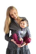 Baby Wrap Carrier by KangerBoo - Stretchy & Breathable Sling Perfect for Newborn