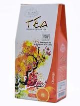 Lions Tea Orange, Pure Ceylon Black Tea Loose Leaf, 100 g - $8.50