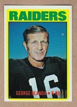 1972 Topps #235 George Blanda Oakland Raiders Near Mint+ NM condition - $7.49