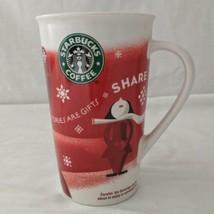 Starbucks Mug Cup STORIES ARE GIFTS SHARE Tumbler Coffee Tea 2010 Holida... - $19.99