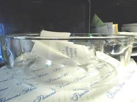 Princess House #401 Vintage Crystal Heritage Chip N Dip Bowl; Etched, Nib - $39.89
