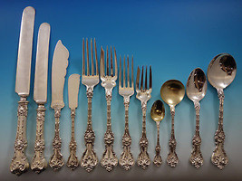 King Edward by Whiting Sterling Silver Flatware Set Service Banquet Size Massive - $16,625.00