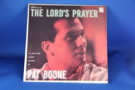 RARE Autograph PAT BOONE EP The Lord's Prayer COA Card Sleeve Framed / U... - $12.33+