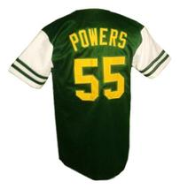 Kenny Powers Charros Eastbound And Down Tv Button Down Baseball Jersey Any Size image 2