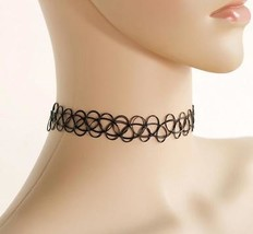 SUSENSTONE New Collares Vintage Stretch Tattoo Choker Necklace For Women... - $1.99