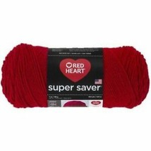 Red Heart Super Saver Yarn in Cherry Red