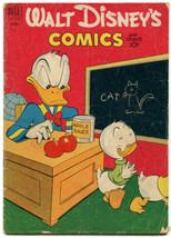 Walt Disney's Comics And Stories 139 Good 2.0 Dell 1952 Carl Barks - $13.85
