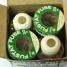 Monarch Fustat  Type S 30 Amp Fuses 4qty  - $37.83