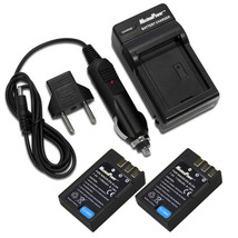 MaximalPower™ TWO Battery and FC500 Charger Combo for Nikon ENEL9/ ENEL9A - $25.53