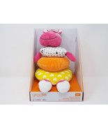 Manhattan Toy Giggle Soft Stacker Baby Toy, Pink Hippo - New - $18.99
