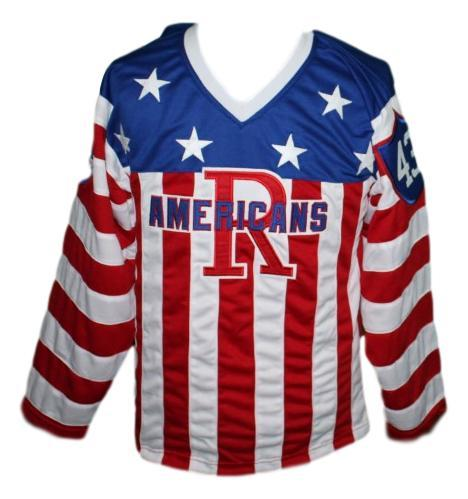 Custom name   rochester americans retro hockey jersey   1