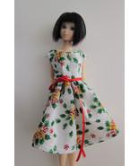 Holly Leaf & Candy Dress Pullip Momoko Jenny Doll Size Handmade by Me OOAK - $19.97