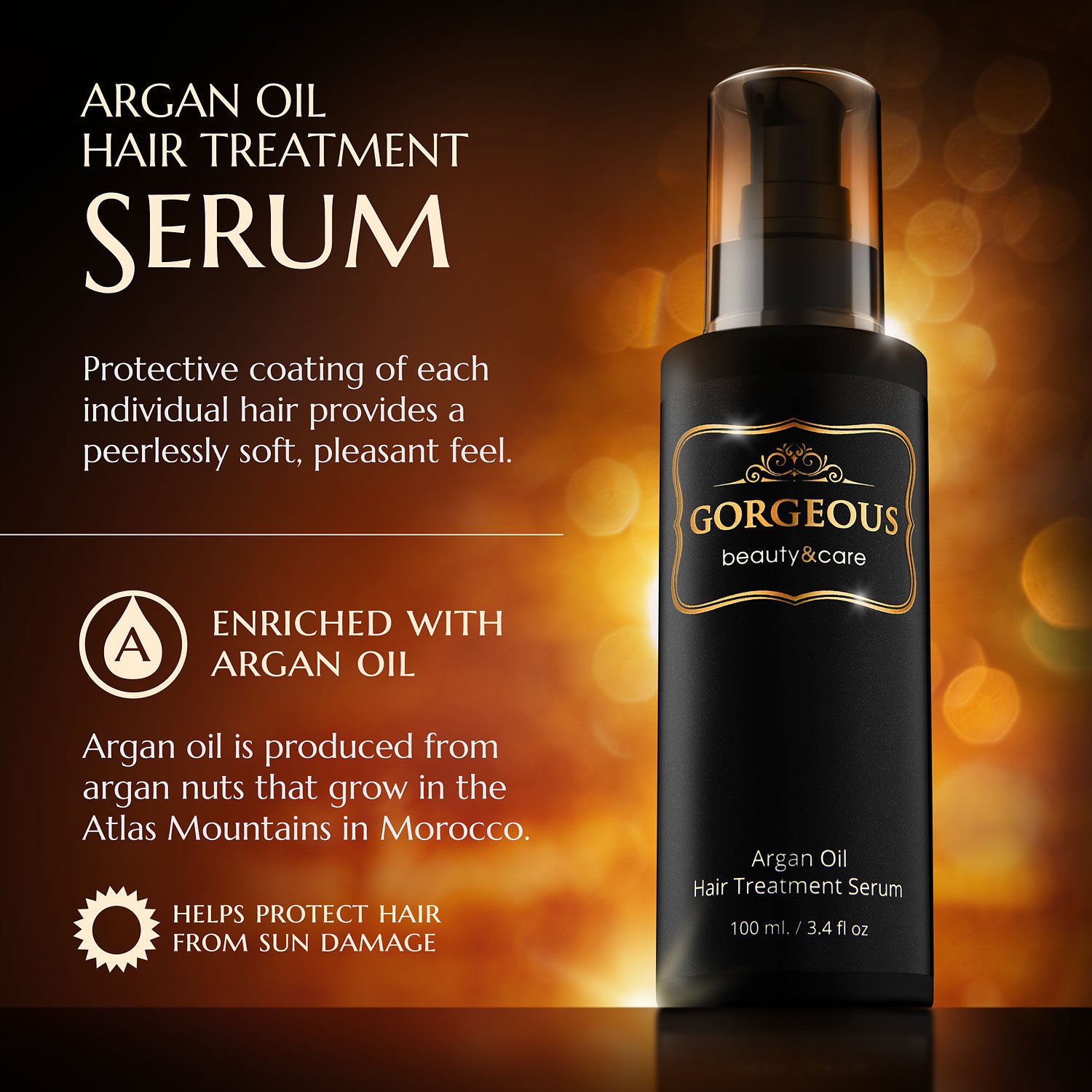 Primary image for Adult Argan Oil Hair Essential Nourish Scalp Treatment Smooth Damaged Dry Repair