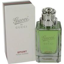 Gucci Pour Homme Sport Cologne 3.0 Oz Eau De Toilette Spray image 2