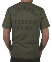 Clsc Classico Always Pronto Verde Militare Uomo T-Shirt Siempre Listos NW