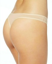 Calvin Klein 5-Pack Black Nude Soft Stretch Thongs QD3652-952 Small NEW image 2