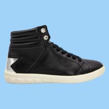 DIESEL S-Olstice Mid W Women's Fashion Sneaker Black Silver Size 8.5 - $103.94