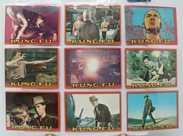 1973 Topps KUNG FU Trading Card LOT of 15 Very Good David Carradine - $14.86