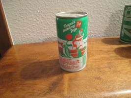 Texas TX Turning 7up vintage pop soda metal can Fishing Toledo Bend - $10.99
