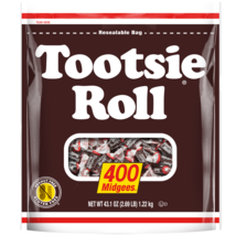 Tootsie Roll Midgees Candies Chews - 43.1oz -400CT - Pack Of 2 - $25.15