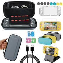 Accessories Kit for Nintendo Switch Lite Accessories Bundle with Carryin... - $35.89